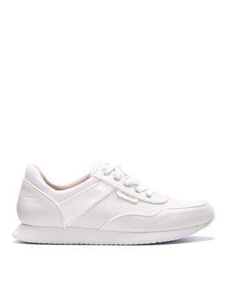 White High Kick Sneaker