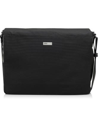 Techno Ripped Messenger Bag