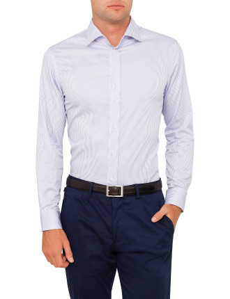 French Collar Stipe Shirt