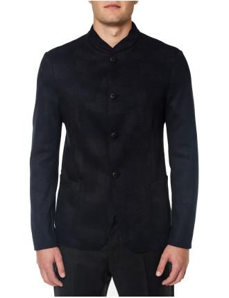Mandarin Collar Four Button Jacket
