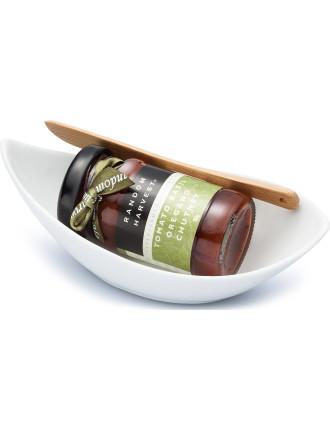 Tomato Basil Oregano Chutney 60g Mini In A Dish