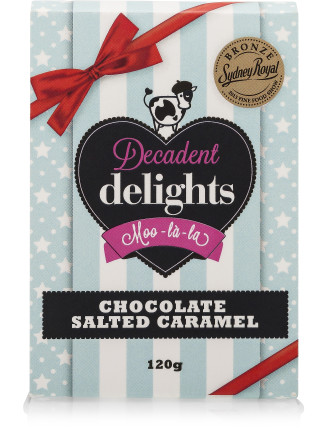 Chocolate & Salted Caramel Tin 320g