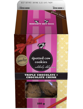 Triple Choc Fudge/Choc Chunk Box 160g