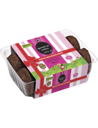 Triple Choc Fudge Cookies Family Pack 500g