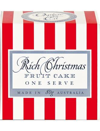 Ogil Rich Christmas Fruit Cake 80g