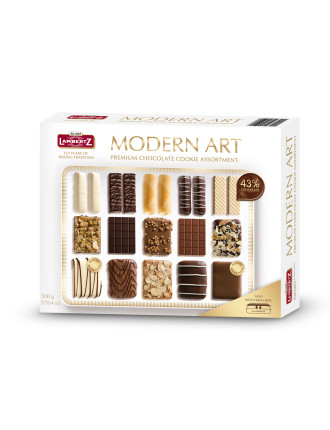 LAMBERTZ Modern Art Cookies Box 500g