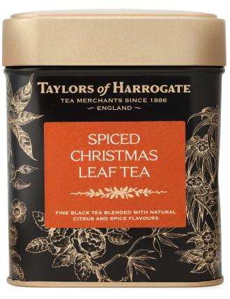 Spiced Christmas Leaf Tea Caddy 125g