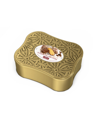 Deluxe European Chocolate Cookies Tin 1.3KG