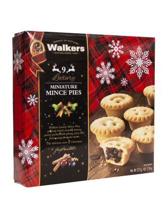 Luxury Minaiture Mincemeat Tarts 225g