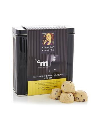 PASSIONFRUIT & DARK CHOCOLATE BY CHRISTINE MANFIELD TIN 200G