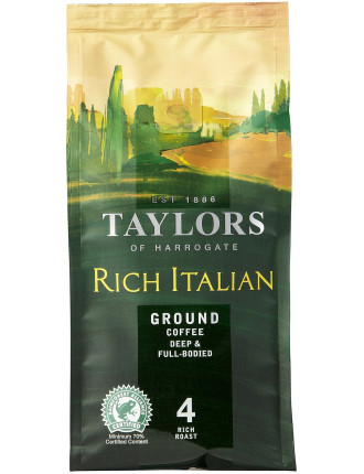 Tofh Rich Italian Ground Coffee 227g
