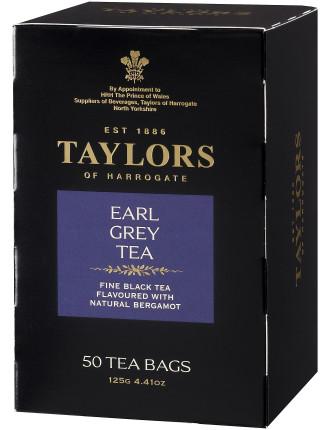 Earl Grey Tea Pot Bags 50'S