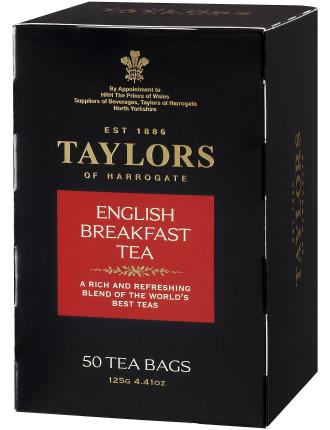 English Breakfast Tea Pot Bags