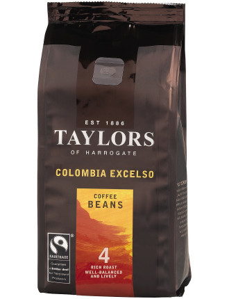 Tofh Fair Trade Colombian Excelso Coffee Beans 227g