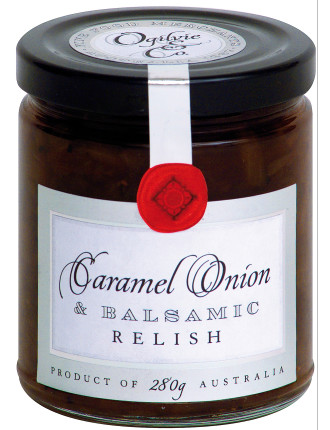 Caramel Onion & Balsamic Relish