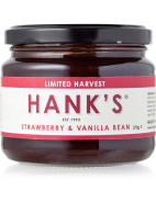 Strawberry and Vanilla Bean Jam 370g $11.95
