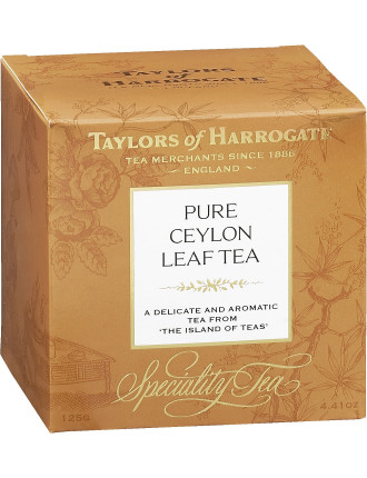Tofh Pure Ceylon Loose Tea 125g