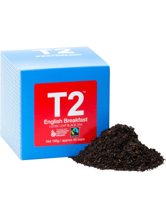T2 Organic Free Trade English Breakfast 100g