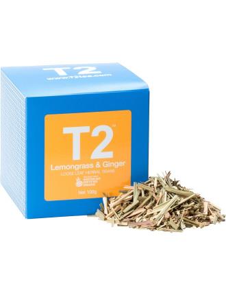 T2 Organic Lemongrass & Ginger 100g