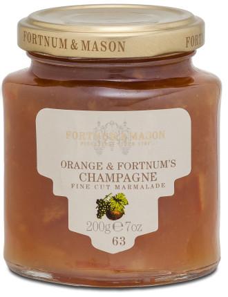 Orange & Fortnum's Champagne Fine Cut Marmalade 200g