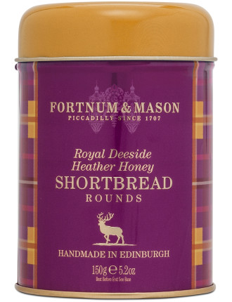 Heather Honey Shortbread Tin 150g
