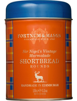 Sir Nigel's Vintage Shortbread Tin 150g