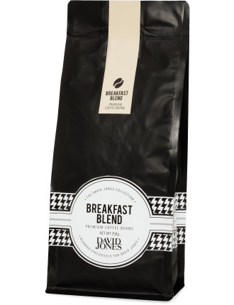 David Jones Breakfast Blend Beans 250g