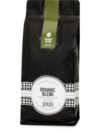 David Jones Organic Blend Beans 250g