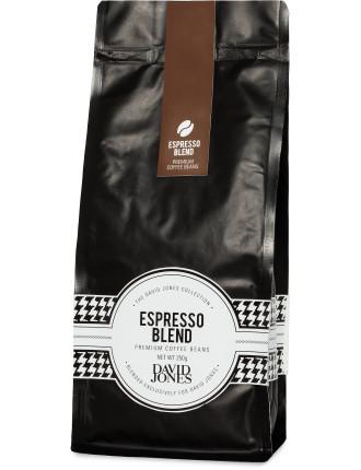 David Jones Espresso Blend Beans 250g