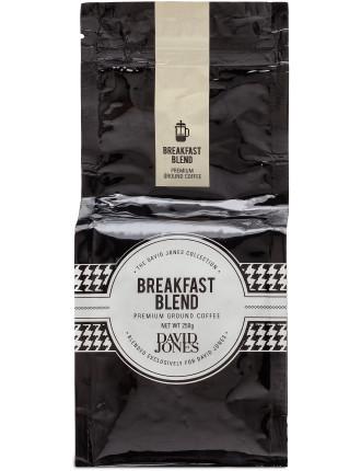 David Jones Breakfast Blend Ground 250g