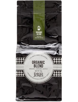 David Jones Organic Blend Ground 250g