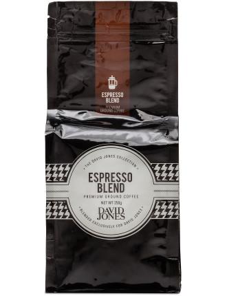 David Jones Espresso Blend Ground 250g