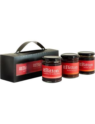 3 Pack- Moroccan Spice, Strawberry Vanilla Jam, Orange Jelly