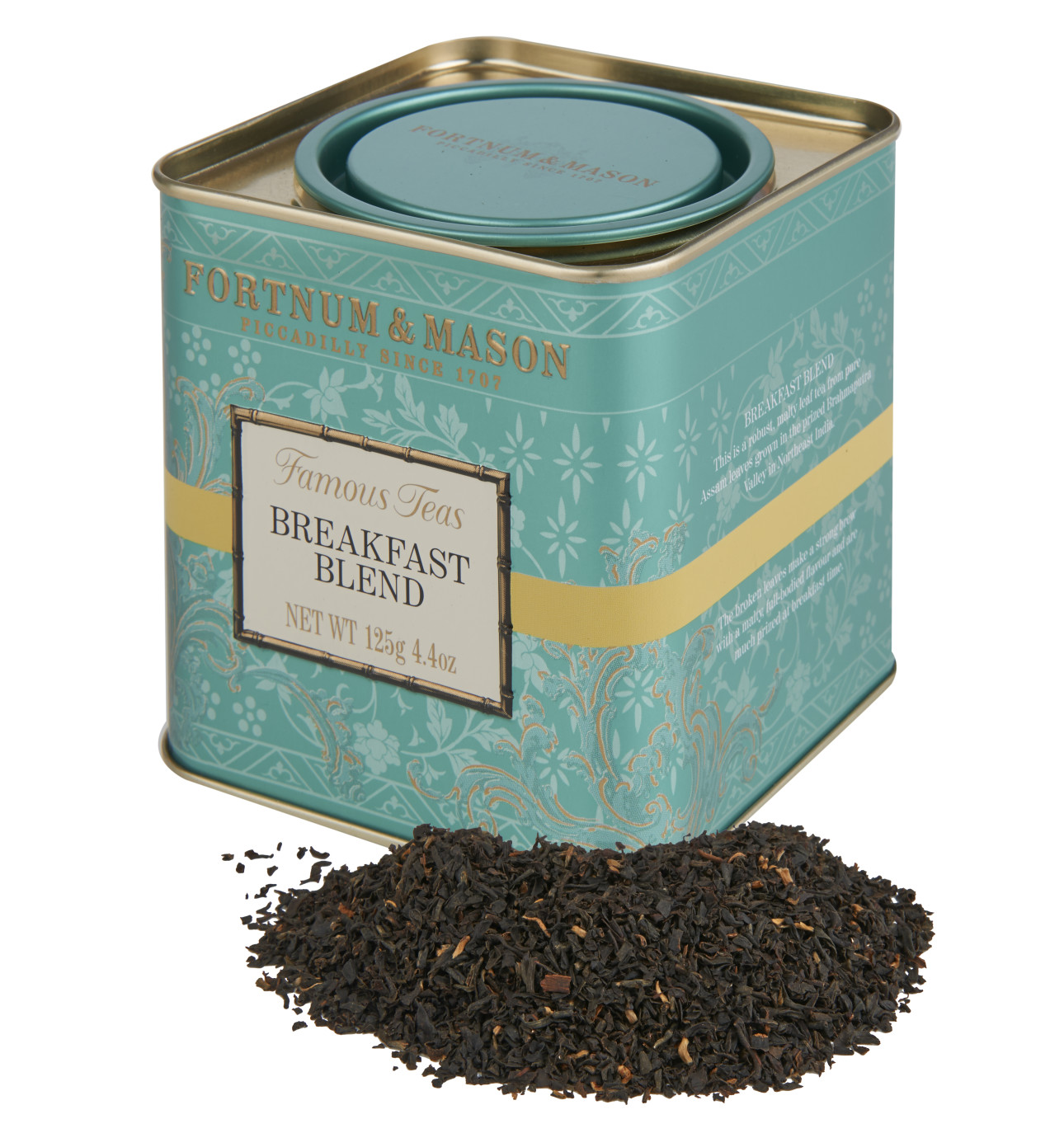 New zealand brands of tea - Breakfast Tea Tin 125g