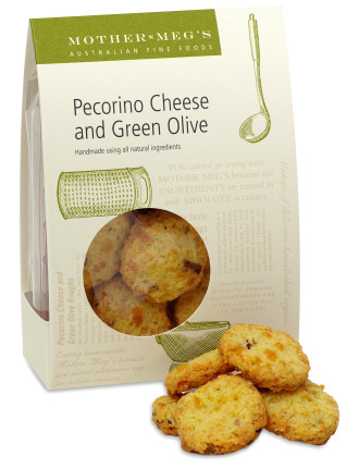 Pecorino Cheese & Green Olive Pantry Pack 120g