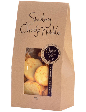 Smokey Cheese Nibbles In Tent 50g