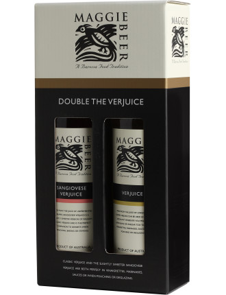 Double The Verjuice Vinegar Gift Pack