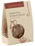 Chocolate & Almond Biscotti 120g $10.95