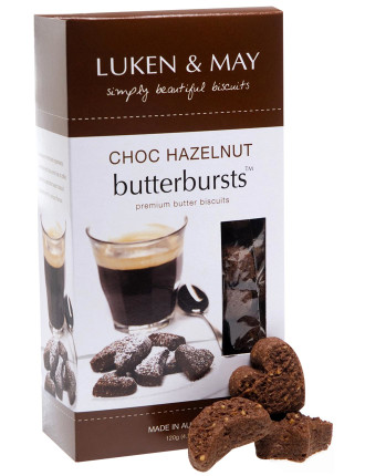 Choc Hazelnut Butterbursts Gift Box