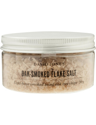 Oak Smoked Cypriot Flake Salt 100ml Tub