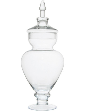 S&P Luxe 45cm Urn Glass Jar