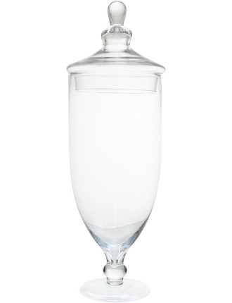 S&P Luxe 52cm Conical Glass Jar