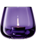 Romi Tea Light Holder Cased Violet 8.5cm $39.95