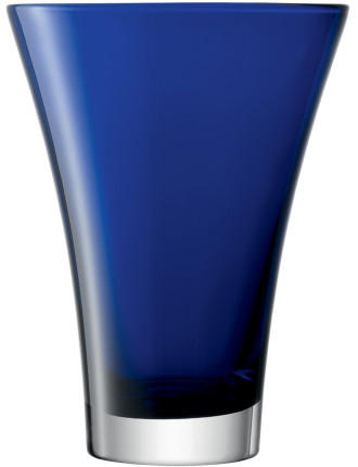 Flower Colour Flared Bouquet Vase - Cobalt 23cm