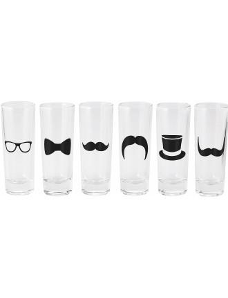 Dapper Shot Glass Set/6