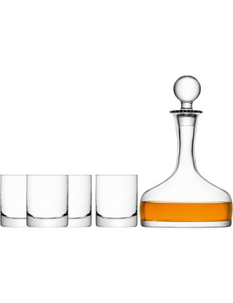 Bar Whisky Set Clear 1.6l/250ml