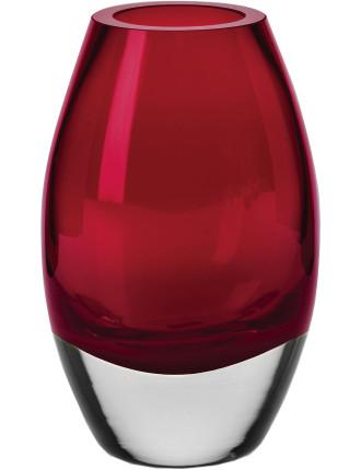 Uovo Vase 17.5cm Ruby Gift Boxed