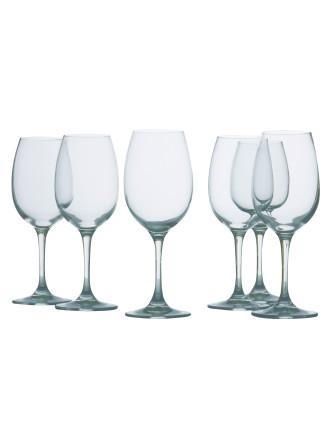 Mansion White Wine Set 6
