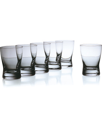 Copenhagen Whisky Glass Box of 6