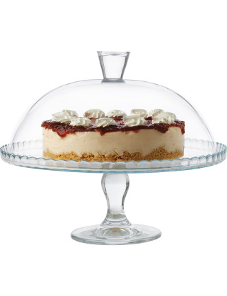 Patisserie Footed Cake Stand & Dome
